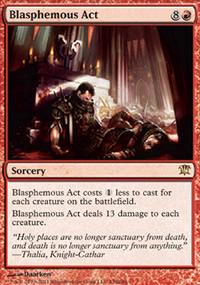 Blasphemous Act - Innistrad