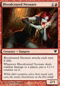 Bloodcrazed Neonate - Innistrad
