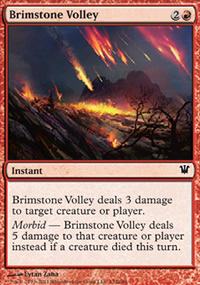 Brimstone Volley - Innistrad