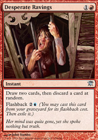 Desperate Ravings - Innistrad