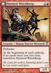 Hanweir Watchkeep - Innistrad