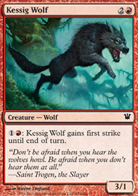 Kessig Wolf - Innistrad