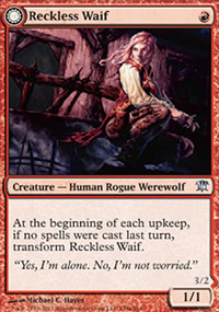 Reckless Waif - Innistrad