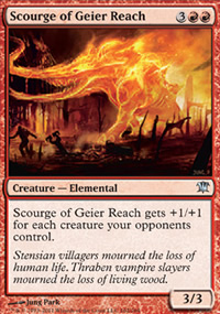 Scourge of Geier Reach - Innistrad