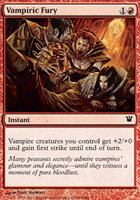 Vampiric Fury - Innistrad