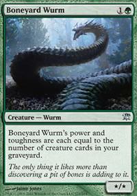 Boneyard Wurm - Innistrad