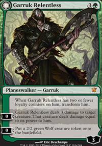 Garruk Relentless - Innistrad