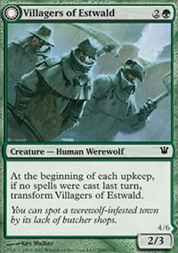 Villagers of Estwald - Innistrad