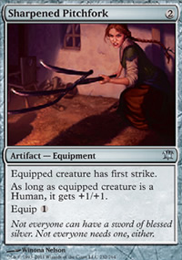 Sharpened Pitchfork - Innistrad