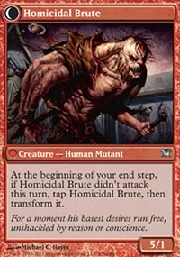 Homicidal Brute - Innistrad