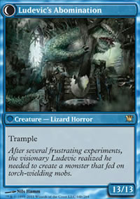 Ludevic's Abomination - Innistrad