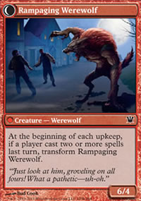 Rampaging Werewolf - Innistrad