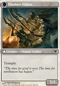 Thraben Militia - Innistrad