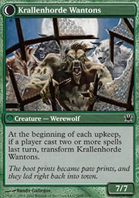Krallenhorde Wantons - Innistrad