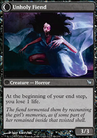 Unholy Fiend - Innistrad