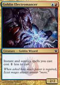 Goblin Electromancer - Izzet vs. Golgari