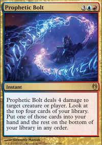 Prophetic Bolt - Izzet vs. Golgari