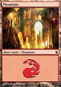 Mountain 1 - Izzet vs. Golgari