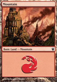 Mountain 2 - Izzet vs. Golgari
