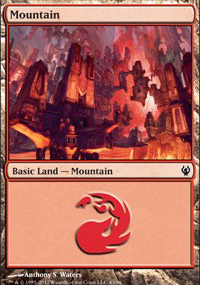 Mountain 3 - Izzet vs. Golgari