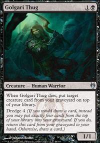 Golgari Thug - Izzet vs. Golgari