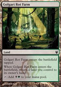 Golgari Rot Farm - Izzet vs. Golgari