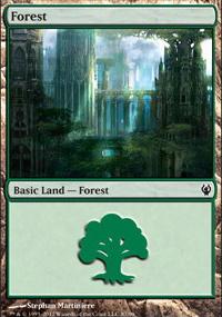 Forest 1 - Izzet vs. Golgari