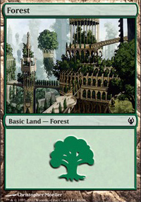 Forest 2 - Izzet vs. Golgari