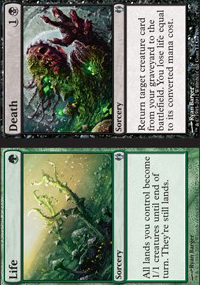 Life / Death - Izzet vs. Golgari