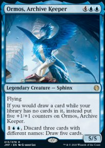 Ormos, Archive Keeper -