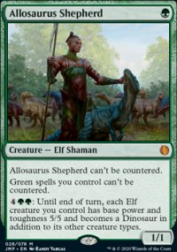 Allosaurus Shepherd - Jumpstart