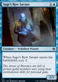 Sage's Row Savant -