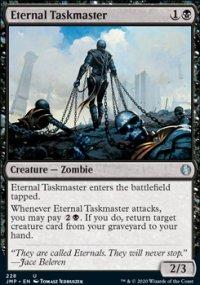 Eternal Taskmaster - Jumpstart