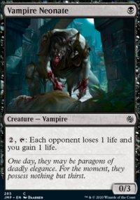 Vampire Neonate -