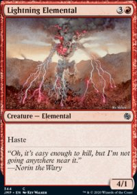 Lightning Elemental -