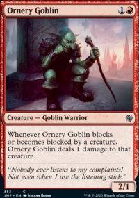 Ornery Goblin -