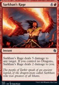 Sarkhan's Rage - Jumpstart