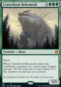 Craterhoof Behemoth -