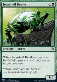 Ironshell Beetle -