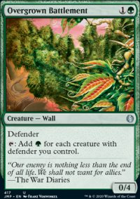 Overgrown Battlement - Jumpstart