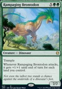 Rampaging Brontodon -