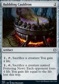 Bubbling Cauldron -