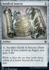Scroll of Avacyn -