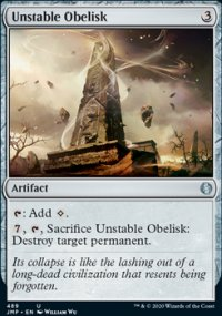 Unstable Obelisk - Jumpstart