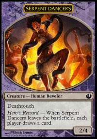 Serpent Dancers - Journey into Nyx Challenge Deck : Defeat a God
