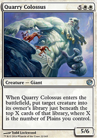Quarry Colossus - Journey into Nyx