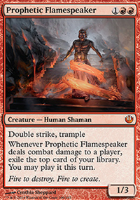 Prophetic Flamespeaker - Journey into Nyx