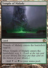 Temple of Malady - Journey into Nyx