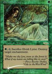 Elvish Lyrist - JSS promos