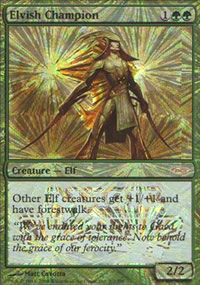 Elvish Champion - JSS promos